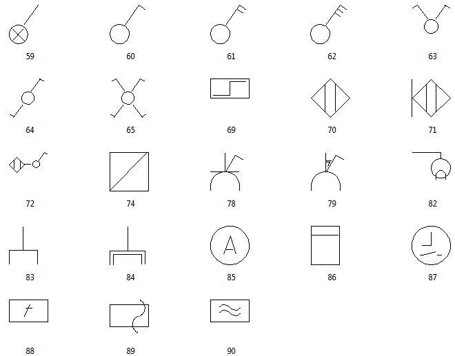 CreativeLines Details 1 - farbige Symbole
