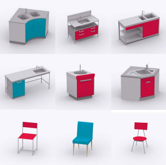 sch ner wohnen k che 370. Black Bedroom Furniture Sets. Home Design Ideas